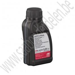 DOT 4 Plus remvloeistof, OE-Kwaliteit, 0,25L verpakking