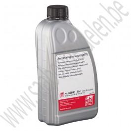 Olie, automatische versnellingsbak, OE-Kwaliteit, 1L verpakking, Saab 9-3v1, 9-5, viertraps automaat, bj 1998-2002, org.nr. 93165414, 400128187, 90350342, 93160372