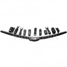 Flatblade ruitenwisser, 53cm, Saab 900NG, 9-3v1, 9000, bj 1985-2003
