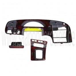 Occassie Saab 9-5 dashboard van hout, incl. asbak en versnellingspookrand, automaat