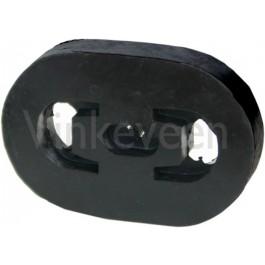 Uitlaat rubber, Origineel, Saab 90, 99, 900 Classic, 9000, bouwjaar 1979 tm 1993, art. nr. 9328105 8386476 9317496