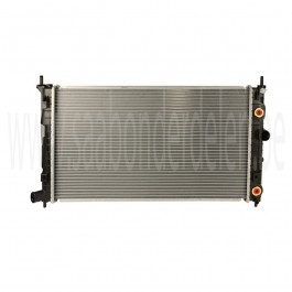 Nw. Saab 9-5 radiator, automaat, motortypen Z19DTH, D223L, D308, bj. '02-'10, art. nr. 5324926, 5952809, 4575734