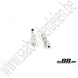 Las nippel, do88, 6,3mm, aluminium
