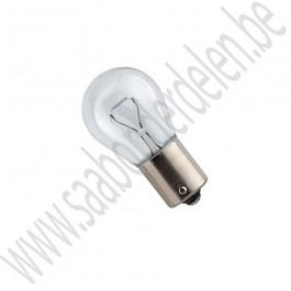 P21W 21W lampje, kleurloos, BA15s fitting, Saab 900, 9000, 9-3, 9-5, ond.nr. 7154719