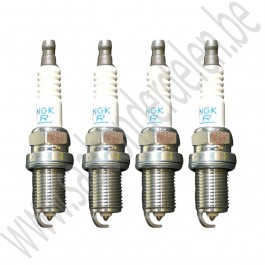PFR6D10G bougieset, Origineel, Saab 9-3v2, 1.8t, 2.0t, 2.0T, bj 2003-2012, org.nr. 55571391, 12787099