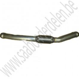 Flexibele tussenbuis uitlaat, aftermarket, Saab 900NG, 9-3v1, bj 1994-2002, ond. nr. 4750741, 4445516