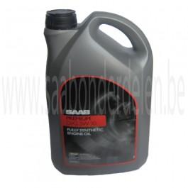 Motorolie Saab Premium, DX2 5W-30, synthetisch, 5 liter, art. nr. PDX005