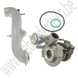 Shortnose turbo upgrade set, TD04-15T en king cobra, Origineel, Saab 9-3v1, 9-5, bj 1998-2010, ond.nr. 55564966, 55560602