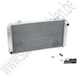 Aluminium performance radiateur, do88, Saab 900 Classic, bouwjaar 1979-1993, ond.nr. 7549298, 7541071