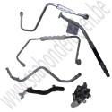 Leiding-set TD04 Saab 9.3 versie 2 art.nr. 12787669, 1278770, 127877769,  55561198