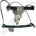 Rechter raam mechanisme met vinger protectie Saab 9-3 sport cabriolet bj: '04 tm '12 art. nr 12830388, 12788804, 12832852, 12788800,