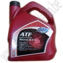 Automatische transmissie olie, Dexron III F, III G, 4 liter, Saab 900NG, 9-3 v1, 9-5, bj: 1994-2010, ond.nr. 93165414, 400128187, 90350342, 93160372
