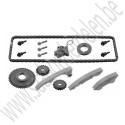 Balansaskettingset, compleet, OE-Kwaliteit, B207, Saab 9-3v2 , ond. nr. 90537370 55557168