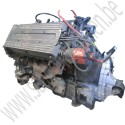 Complete motor, Saab 900 Classic T16 B202, Turbo 16-klepsmotor, gebruikt, bouwjaar 1985-1993, ond.nr. 8788259