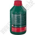 Stuurbekrachtigings- carbiokapolie, groen, 1 liter, OE-Kwaliteit,  Saab 9-3 versie 1, 9-3 versie 2 en 9-5 , bouwjaar 1998 tm 2010, ond. nr. 93160548, 93165227, 1940715