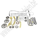 Distributie- en balansas kettingset, Origineel, Saab 9000, 900NG, 9-3v1, 9-5, B205, B235, B204, B234, bj 1994-2010, ond. nr. 93184480