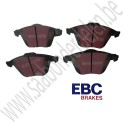 EBC Voorrem blokkenset, EBC Ultimax, 345mm Saab 9-v2, 17+'' ,  art. nr. 93195754