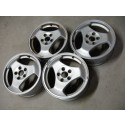 Occasie 16 inch velgenset, ALU 26, Saab 900 New Generation, 9-3 en 9-5 gebogen 3 spoke, bj. '94-'10 art. nr. 400108361, 4566055