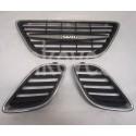 Gebr. grille Saab 9-5, bj. 2002-2005, art. nr. 5336169 5336151 5289681 5289699 5289707