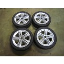 "Saab 9-3 sport en 9-5 17"" winter wielen set V spoke bj: '98 tm '12"