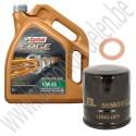 Oliewisselset, kleine beurt, Castrol Edge 10W60, voor volledruk turbo en getunede auto's en Aero uitvoeringen.