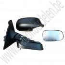 Complete spiegel, rechts, handmatig inklapbaar, elektrisch verstelbaar met geheugen, Saab 9-3 v2, bj 2003-2009, ond.nr. 12795620