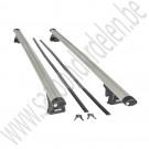 Dakdrager set, Aluminium, Origineel, Saab 9-5 Estate met dakrails, bj 1999-2010, ond.nr. 400132437