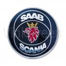 Achterklepembleem, Saab Scania, Saab 9000 CD, bouwjaar 1990 tm 1997, org. nr. 4094777