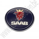 Embleem kofferklep, origineel, Saab 9-3 V1 cabriolet, bj: '01 tm '03, art. nr. 4910915, 5289897