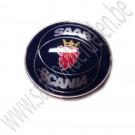 aftermarket Saab Scania embleem motor kap voor Saab 900 klassiek, 900 New Generation, 9000 en 9-3 V1 bj: '86 tm '00 art. nr6911895 art. nr4522884