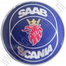 Achterklepembleem, Saab Scania, Saab 900 sedan, 900 cabrio bj 1986-1993, art.nr. 6941272