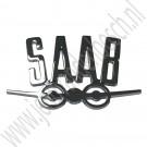 Saab vliegtuig embleem, Saab 95 en 96 achterzijde, ond.nr. 7246390