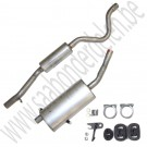 Uitlaat demperset, Aftermarket, Saab 900 Classic, carburateur en injectie motoren, bj: 1986-1993, ond.nr. 8819690, 5466180, 5466198