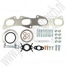 turbo montageset, uitgebreid, Saab 9-3 v2, 9-5, 1.9TiD, DTH, ond.nr. 93181888, 93179066, 93178709
