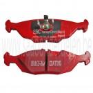 Achterremblokkenset, EBC Red Stuff, Saab 900 Classic, 9000, bj. '89-'98, art. nr. DP3635C