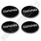 Ronal Inca center cap stikkerset, Saab 95, 96, 99, 90, 900 Classic