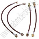 Goodridge upgrade remslangenset, Saab 900NG, 9-3 v1, bj 1994-2003, ond.nr. XSA-6264-B4
