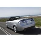 Achterklep, Origineel, Saab 9-3 v2 Cabriolet, bj 2004-2009, ond.nr. 12847512, 12833156, 12833157, 32016294
