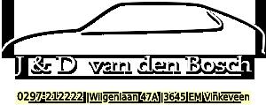Saab specialist J&D Van den Bosch Saab onderdelen
